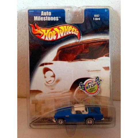 Hot Wheels - 1957 T-Bird Azul - Auto Milestones