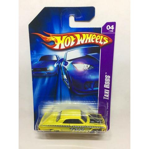 Hot Wheels - 1964 Chevy Impala Amarelo - Mainline 2007