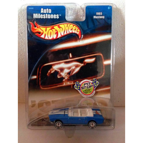 Hot Wheels - 1965 Mustang Azul - Auto Milestones