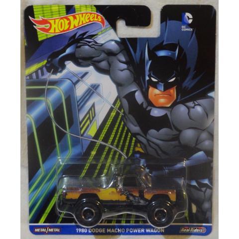 Hot Wheels - 1980 Dodge Macho Power Wagon - Batman - DC Comics