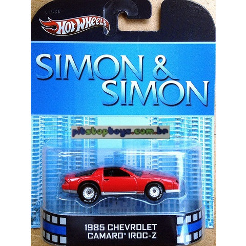 Hot Wheels - 1985 Chevrolet Camaro Iroc-Z - Simon & Simon - Retro