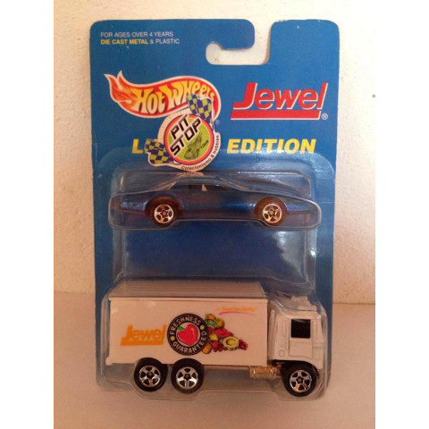 Hot Wheels - 2 Pack - Hiway Hauler Branco - Jewel