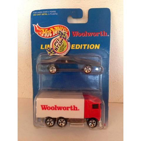 Hot Wheels - 2 Pack - Hiway Hauler Vermelho - Woolworth