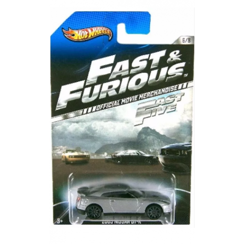 Hot Wheels - 2009 Nissan GT-R - Fast & Furious