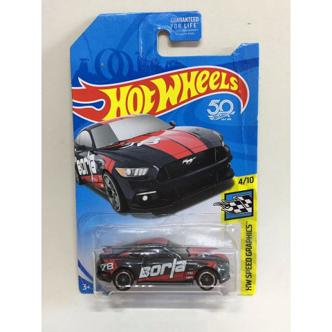 Hot Wheels - 2015 Ford Mustang GT Preto - Treasure Hunt Super 2018 - 50th