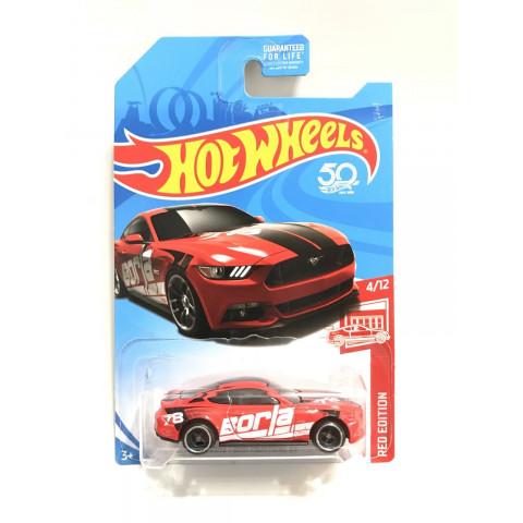 Hot Wheels - 2015 Ford Mustang GT Vermelho - Exclusiva Mercados Target - Mainline 2018