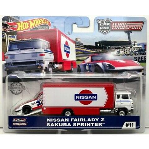 Hot Wheels - Nissan Fairlady  Sakura Sprinter - Team Transport