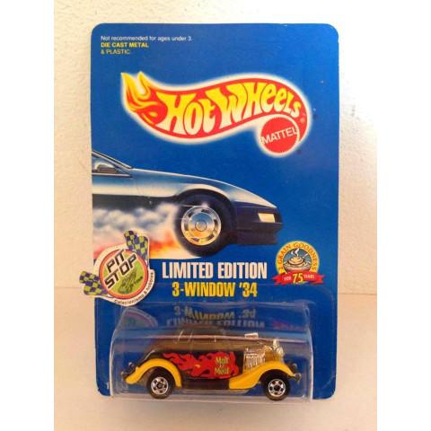 Hot Wheels - 3 Window 34 Preto - 2 Grain Goodness - Limited Edition