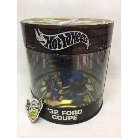 Hot Wheels - 32 Ford Coupe Azul - Oil Can