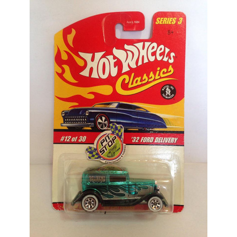 Hot Wheels - 32 Ford Delivery Verde - Classics