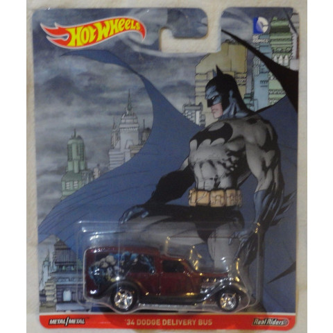 Hot Wheels - 34 Dodge Delivery Bus - Batman - DC Comics