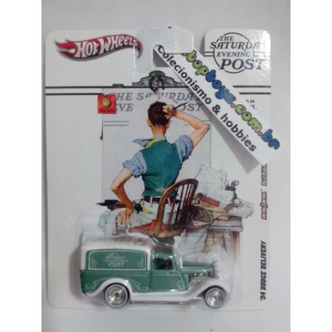 Hot Wheels - 34 Dodge Delivery - The Saturday Evening Post