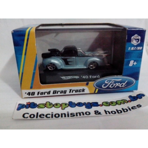 Hot Wheels - 40 Ford Cinza - 1:87