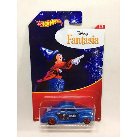 Hot Wheels - 40 Ford Coupe Azul - Disney - Fantasia
