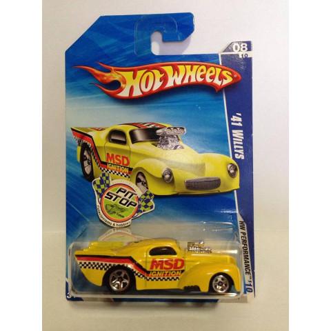 Hot Wheels - 41 Willys Amarelo - Mainline 2010