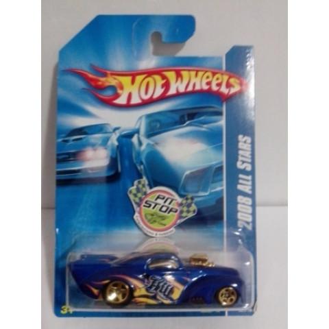 Hot Wheels - 41 Willys Azul - Mainline 2008