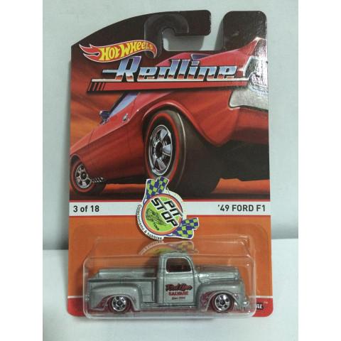 Hot Wheels - 49 Ford F1 Prata - Heritage - Redline
