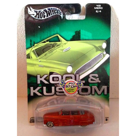 Hot Wheels - 49 Merc Laranja - Kool & Kustom