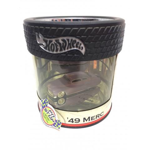 Hot Wheels - 49 Merc Roxo - Oil Can - Petersen