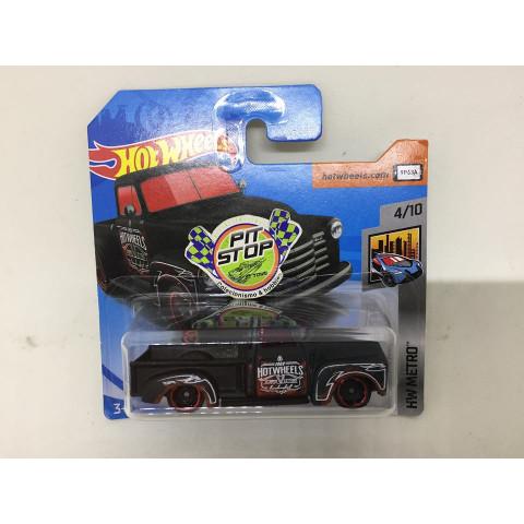 Hot Wheels - 52 Chevy Preto - Mainline 2018