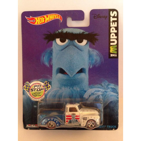 Hot Wheels - 52 Chevy Truck Branco - The Muppets