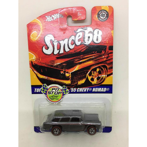 Hot Wheels - 55 Chevy Nomad Cinza - Since 68