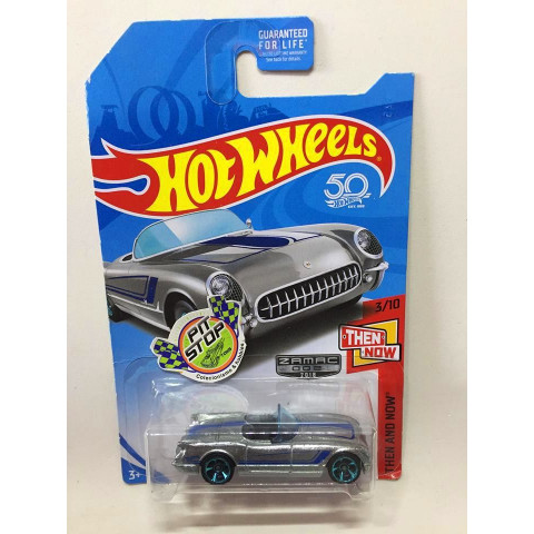 Hot Wheels - 55 Corvette - Mainline 2018 - Zamac 2018