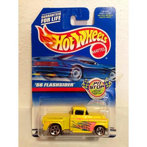 Hot Wheels - 56 Flashsider Amarelo - Mainline 1998