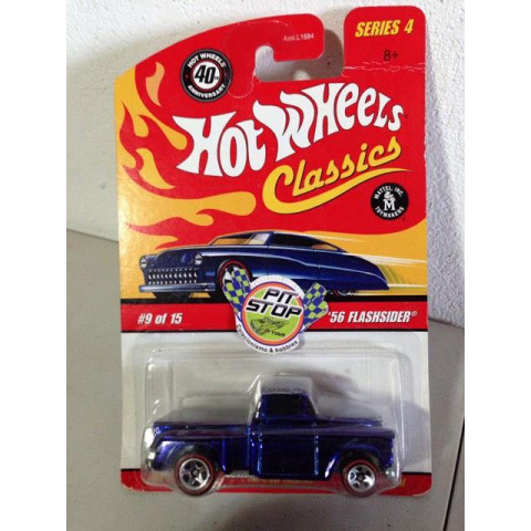 Hot Wheels - 56 Flashsider Azul - Classics