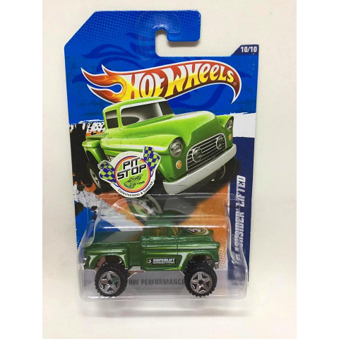 Hot Wheels - 56 Flashsider Verde - Mainline 2011