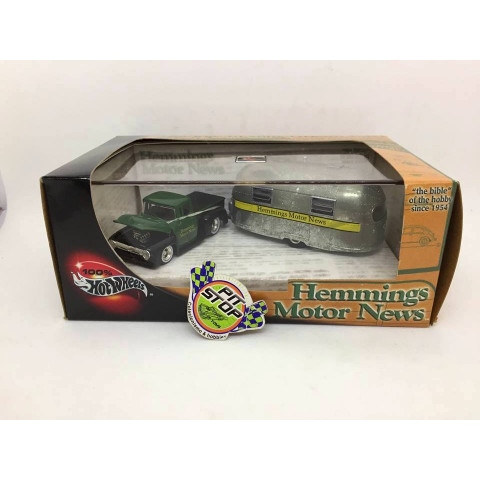 Hot Wheels - 56 Ford Truck e 49 AirSteam Clipper - Hemmings Motor News