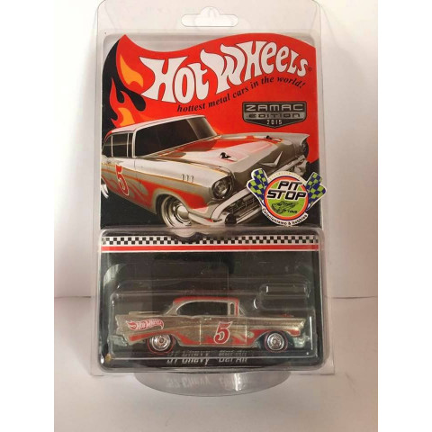 Hot Wheels - 57 Chevy Bel Air - 2015 Zamac Edition