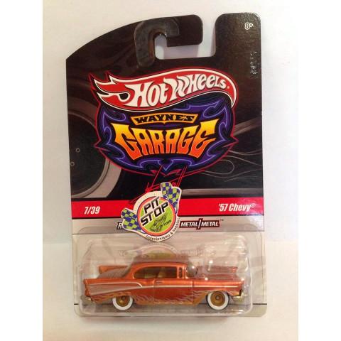 Hot Wheels - 57 Chevy Bronze - Waynes Garage