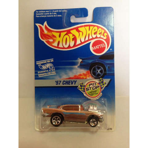 Hot Wheels - 57 Chevy Cromo - Mainline 1996
