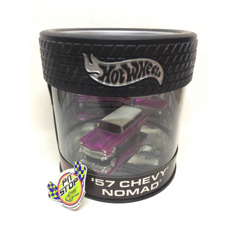 Hot Wheels - 57 Chevy Nomad Rosa - Oil Can
