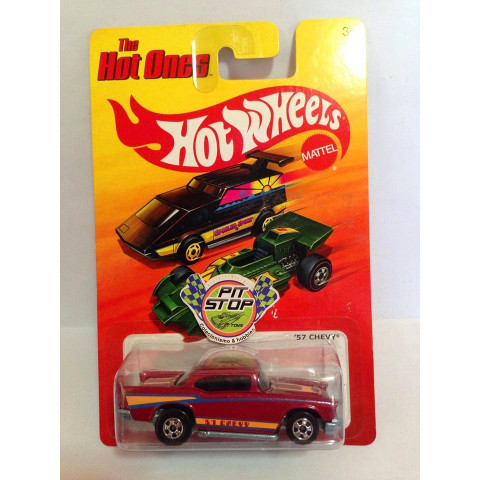 Hot Wheels - 57 Chevy Vermelho - Hot Ones