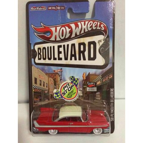 Hot Wheels - 58 Plymouth Belvedere Vermelho - Boulevard