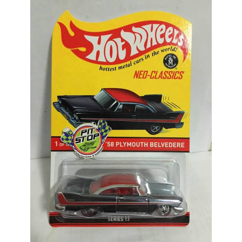 Hot Wheels - 58 Plymouth Belvedere - Neo Classics