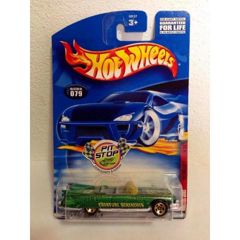 Hot Wheels - 59 Cadillac Verde -  Mainline 2001