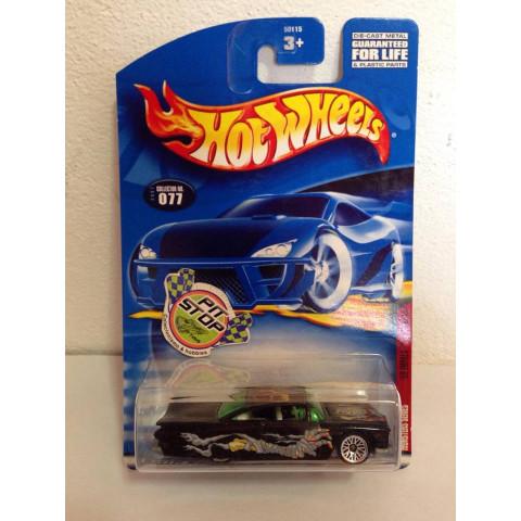 Hot Wheels - 59 Impala Preto - Mainline 2001