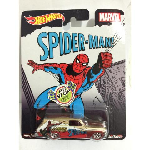 Hot Wheels - 64 Chevy Nova Delivery - Pop Culture - Spider-Man