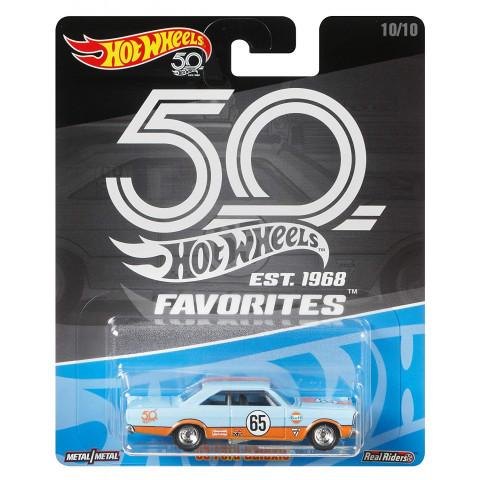 Hot Wheels - 65 Ford Galaxie Azul - Favorites 50 Years