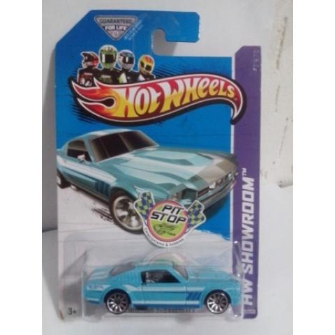 Hot Wheels - 65 Mustang 2 + 2 Fasback Azul - Mainline 2013