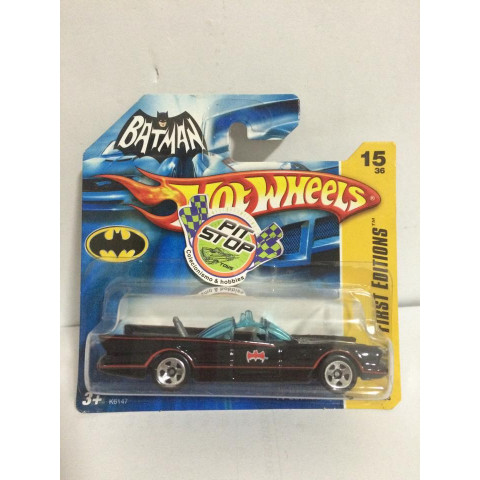 Hot Wheels - 66 TV Batmobile - Mainline 2007