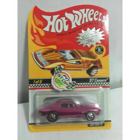Hot Wheels - 67 Camaro Rosa - Neo-Classics Series