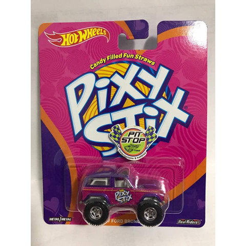 Hot Wheels - 67 Ford Bronco - Pixy Stix - Candy