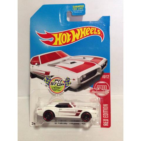 Hot Wheels - 67 Pontiac Firebird 400 Branco - Exclusiva Mercados Target 2017
