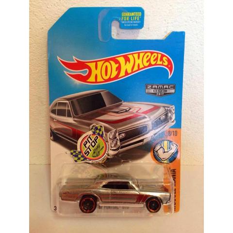 Hot Wheels - 67 Pontiac GTO - Zamac 2017