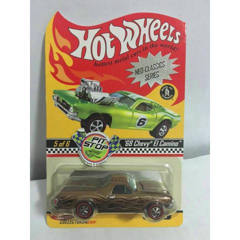 Hot Wheels - 68 Chevy El Camino - Neo-Classics Series