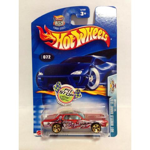 Hot Wheels - 68 Cougar Vermelho - Mainline 2003